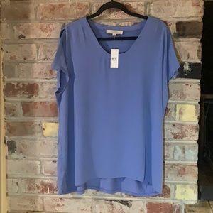 LOFT Split Sleeve Blouse— NEW WITH TAGS!